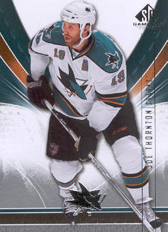 2009-10 SP Game Used #81 Joe Thornton