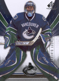 2009-10 SP Game Used #94 Roberto Luongo