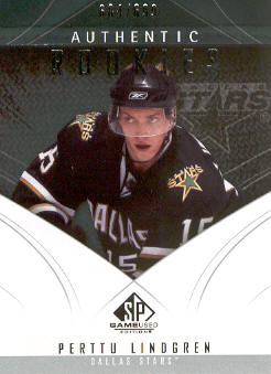 2009-10 SP Game Used #125 Perttu Lindgren RC