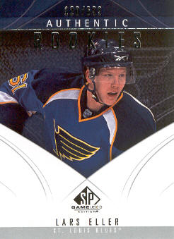 2009-10 SP Game Used #142 Lars Eller RC