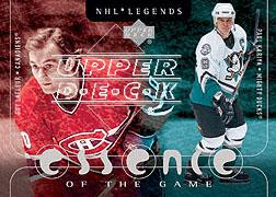 2000-01 Upper Deck Legends Essence of the Game #EG1 Guy Lafleur/Paul Kariya