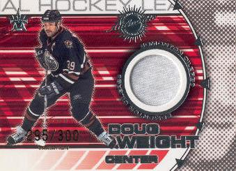 2000-01 Vanguard Dual Game-Worn Patches #7 Doug Weight/Ryan Smyth/300
