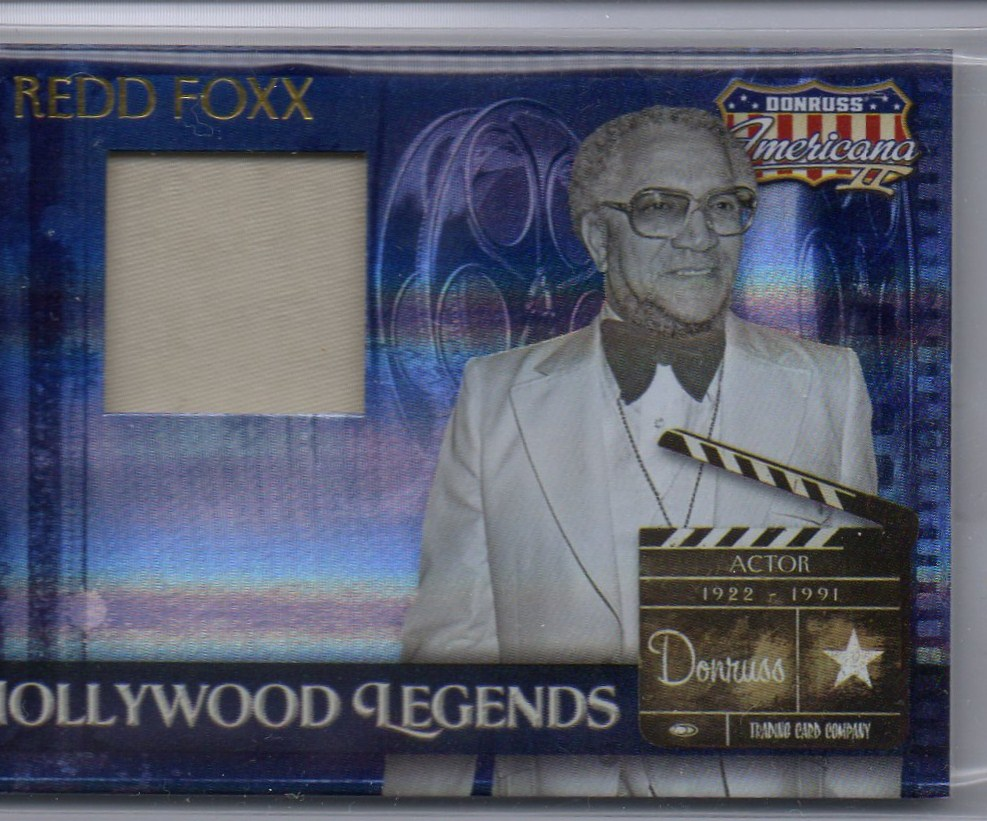 2008 Americana II Hollywood Legends Material #64 Redd Foxx/500