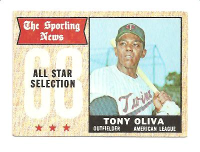 1968 Topps #371 Tony Oliva AS