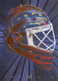 2001-02 Between the Pipes Masks #9 Damian Rhodes