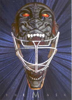 2001-02 Between the Pipes Masks #21 Mike Dunham