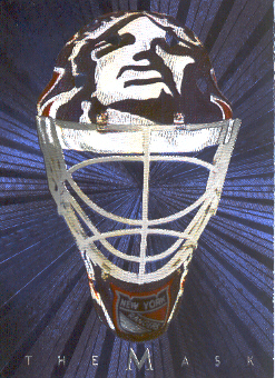 2001-02 Between the Pipes Masks #22 Mike Richter