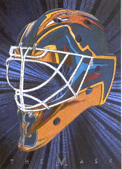 2001-02 Between the Pipes Masks #34 Milan Hnilicka