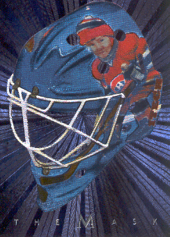 2001-02 Between the Pipes Masks #37 Jeff Hackett