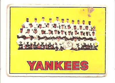 1967 Topps #131 New York Yankees TC