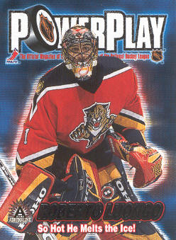 2001-02 Pacific Adrenaline Power Play #17 Roberto Luongo