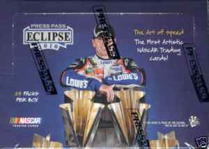 2010 Press Pass Eclipse Racing Factory Sealed HOBBY Box With 1 Autograph & 3 Memorabilia Cards Per Box - In Stock Now