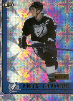 2001-02 Pacific Heads Up Premiere Date #87 Vincent Lecavalier