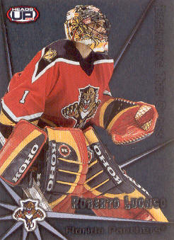 2001-02 Pacific Heads Up Breaking the Glass #11 Roberto Luongo