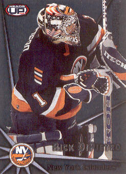 2001-02 Pacific Heads Up Breaking the Glass #14 Rick DiPietro