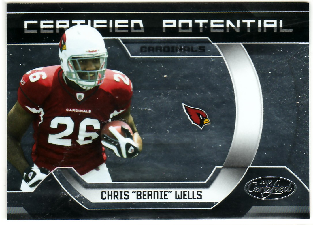 2009 Certified Certified Potential #22 Chris Wells
