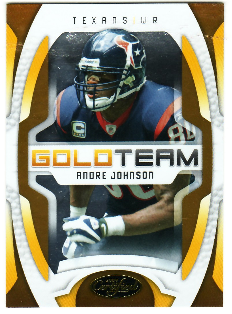 2009 Certified Gold Team #7 Andre Johnson
