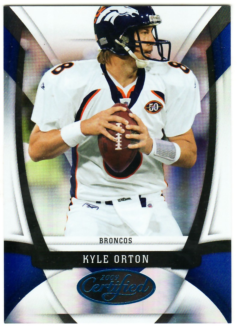 2009 Certified Mirror Blue #40 Kyle Orton