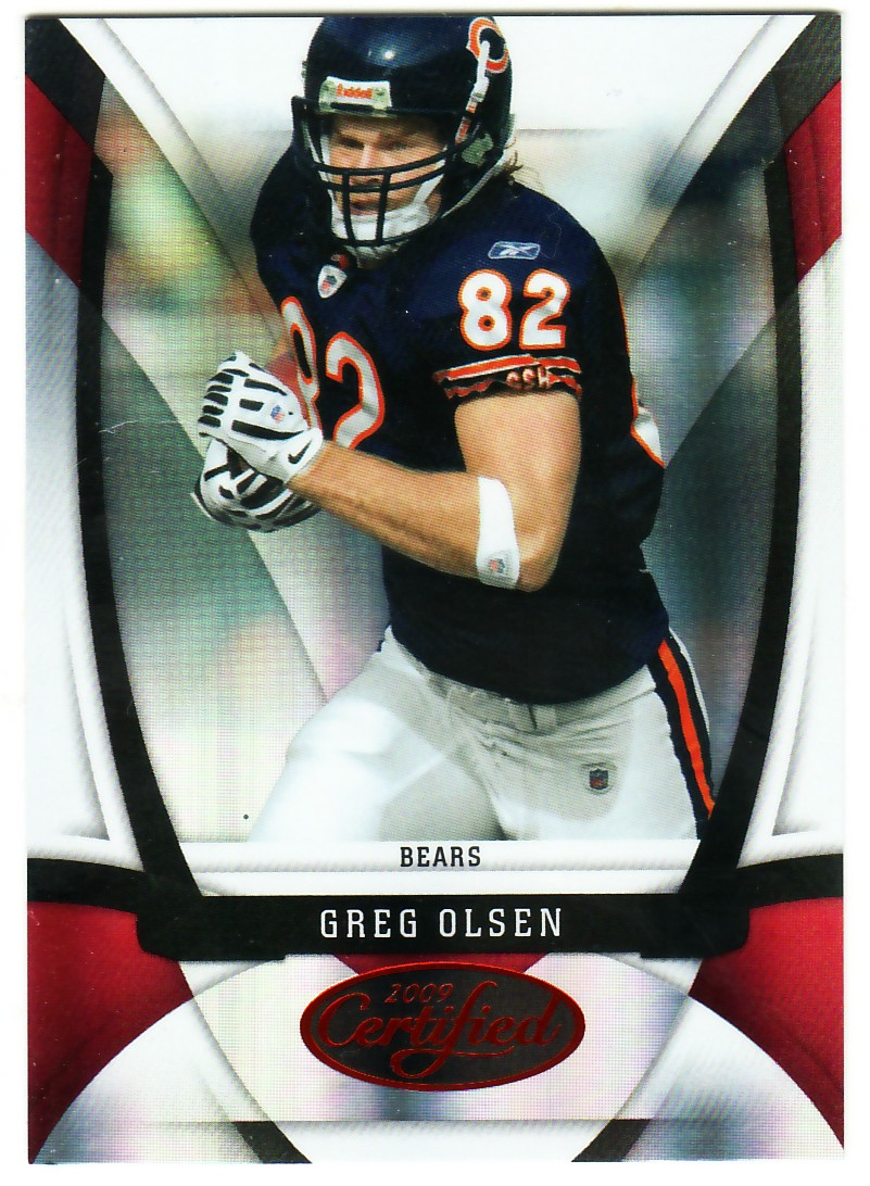 2009 Certified Mirror Red #23 Greg Olsen
