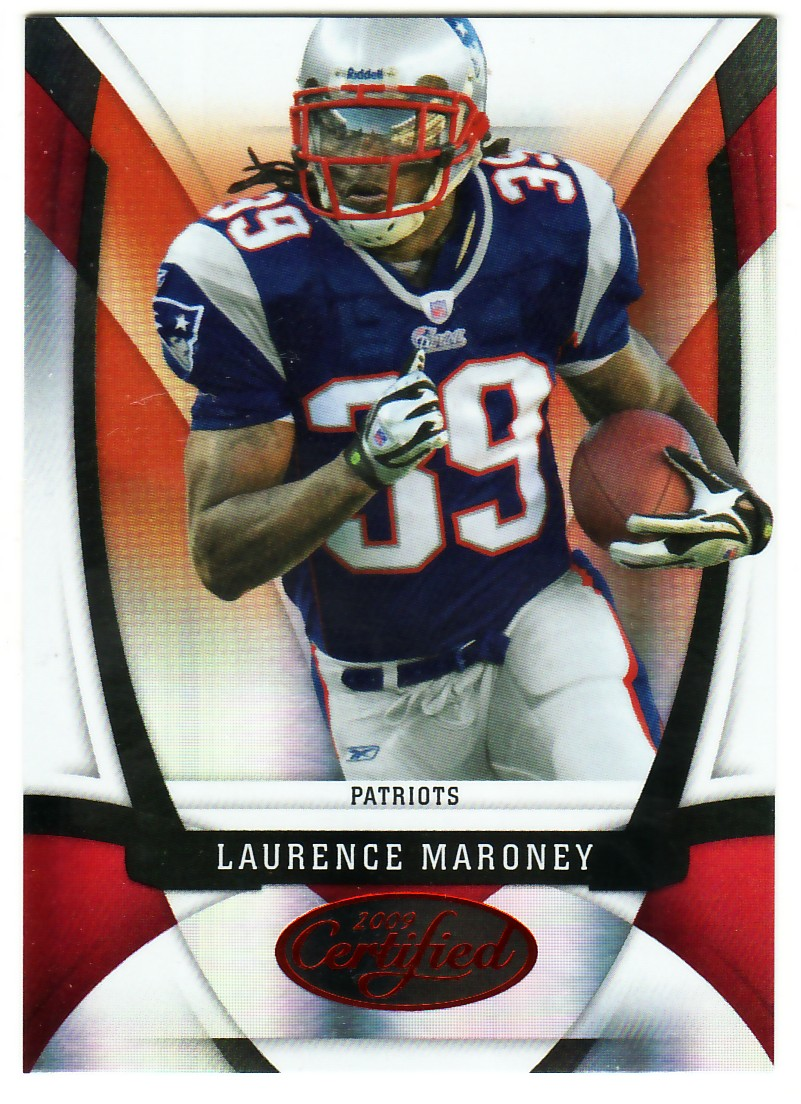 2009 Certified Mirror Red #72 Laurence Maroney