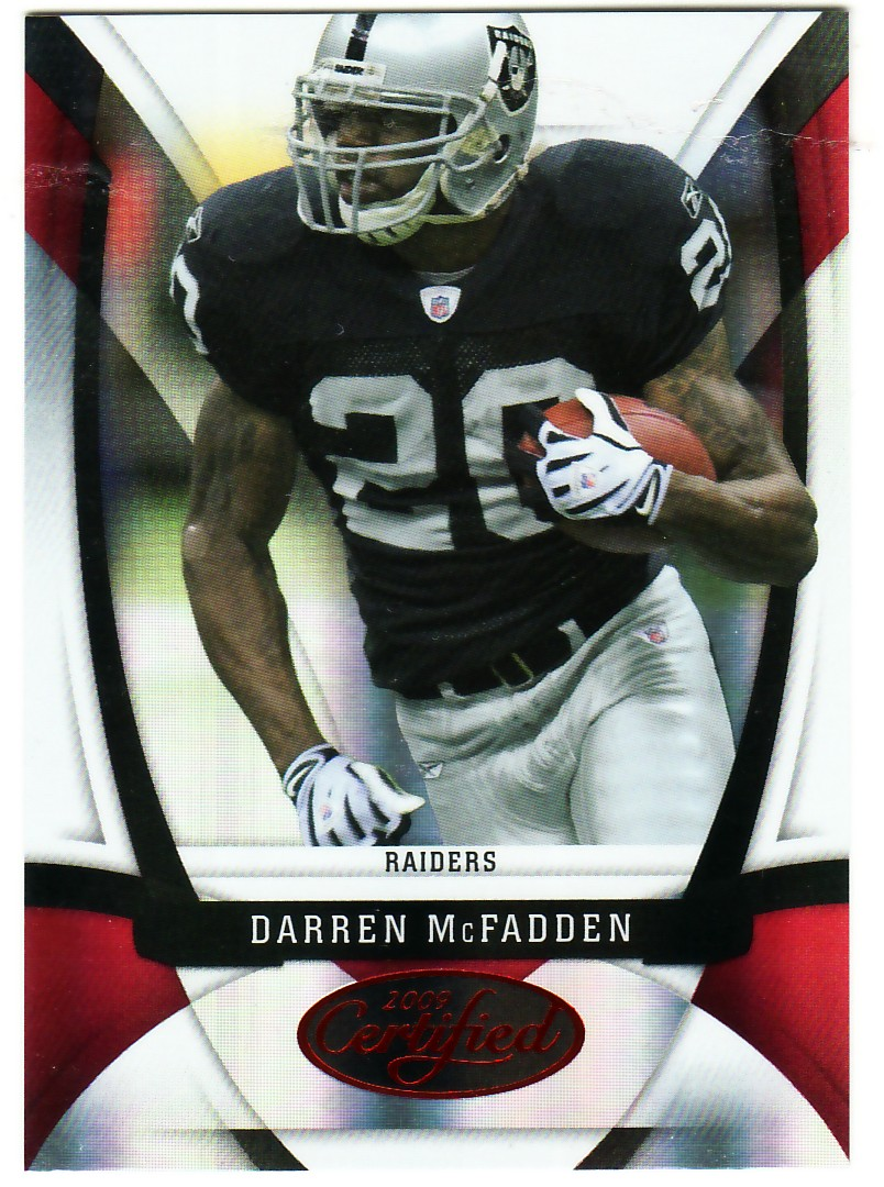 2009 Certified Mirror Red #87 Darren McFadden