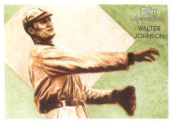 2010 Topps National Chicle #239 Walter Johnson
