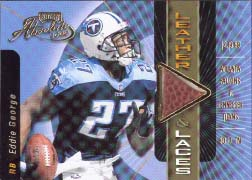 2000 Playoff Absolute Leather and Laces #EG27A, Eddie George /350