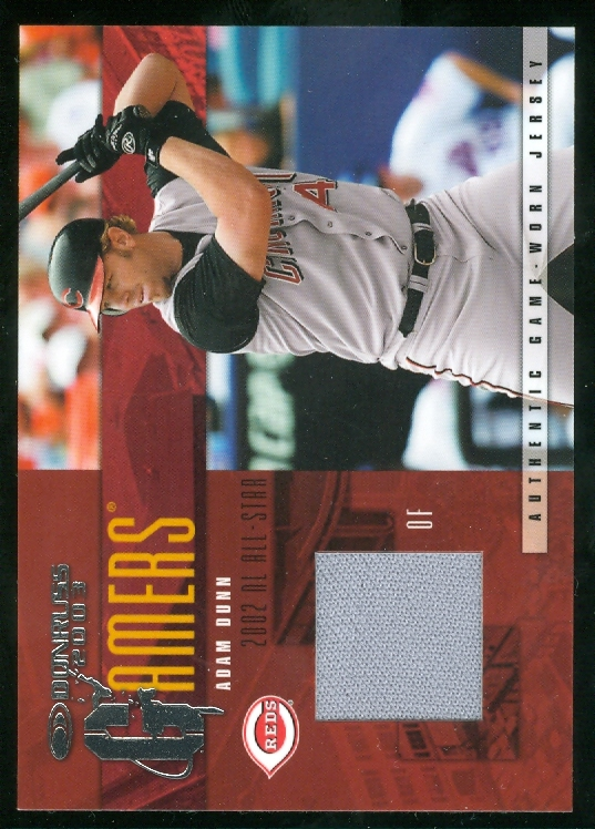 2003 Donruss Gamers Rewards #13 Adam Dunn