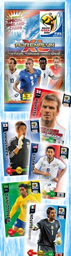 3 PACK LOT : 2010 Panini Adrenalyn FIFA World Cup Soccer (Football)