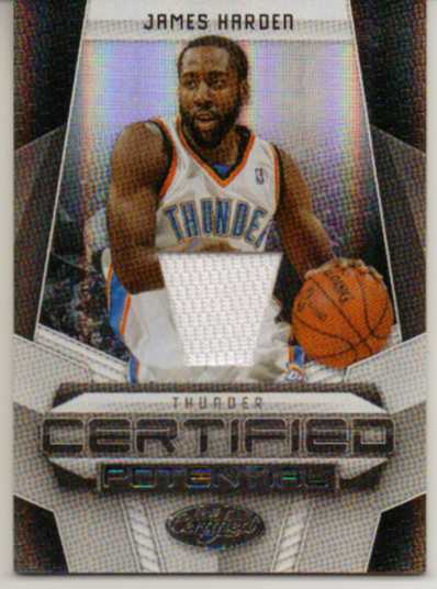 2009-10 Certified Potential Materials #25 James Harden/599