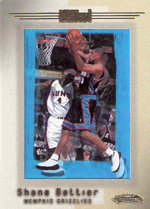 2001-02 Fleer Showcase #95 Shane Battier AVANT RC