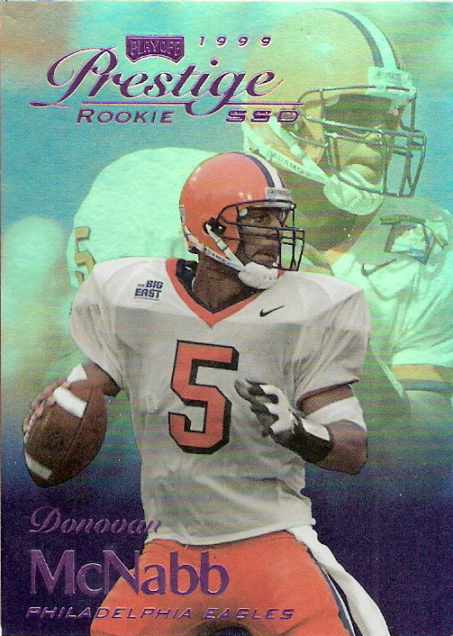 1999 Playoff Prestige SSD Spectrum Purple #163 Donovan McNabb