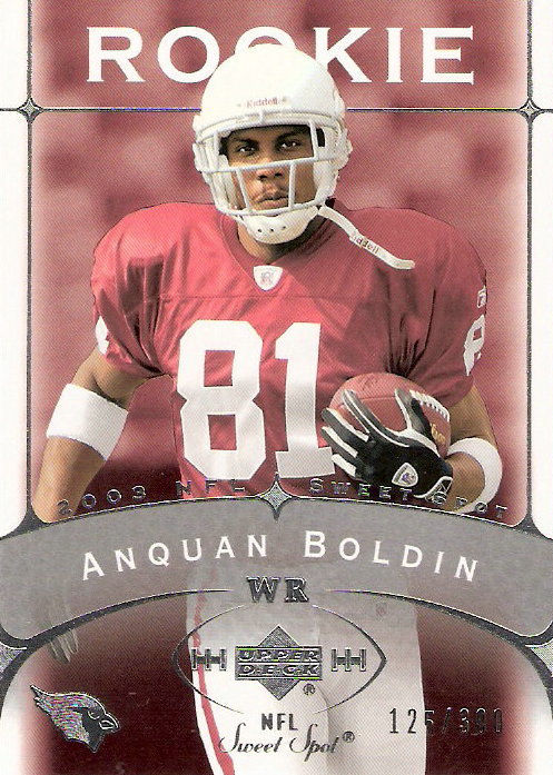 2003 Sweet Spot #192 Anquan Boldin RC