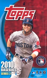 2010 Topps Series 2 MLB Baseball Sports Trading Cards Hobby Box front image