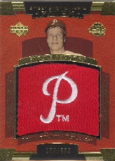 2004 Sweet Spot Classic Patch 300 #RA Richie Ashburn Phils