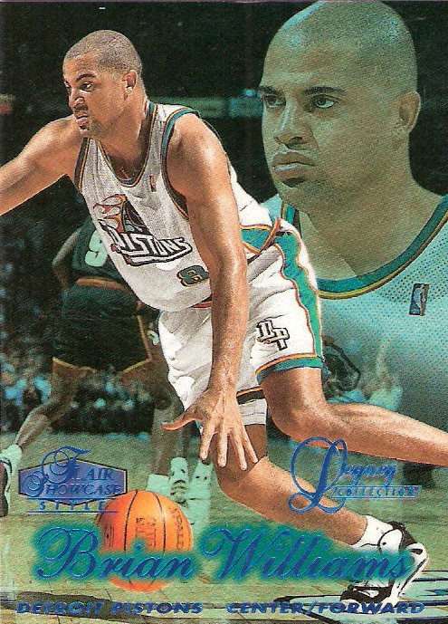 1997-98 Flair Showcase Legacy Collection Row 2 #74 Brian Williams