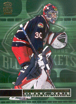 2000-01 Crown Royale 21st Century Rookies #8 Marc Denis