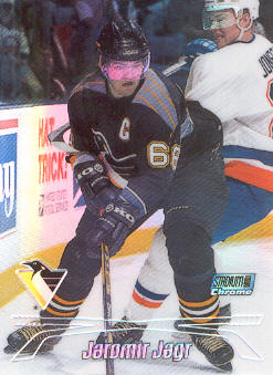 1999-00 Stadium Club Chrome Refractors #1 Jaromir Jagr