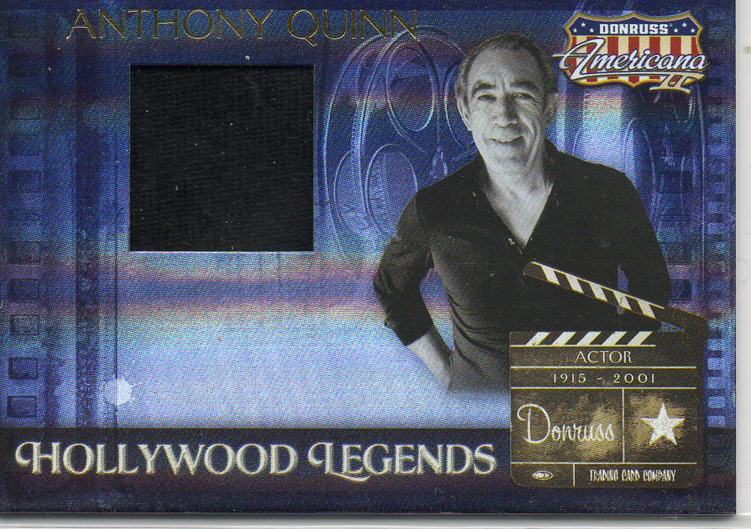 2008 Americana II Hollywood Legends Material #53 Anthony Quinn/500