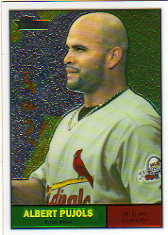 2010 Topps Heritage Chrome #C1 Albert Pujols