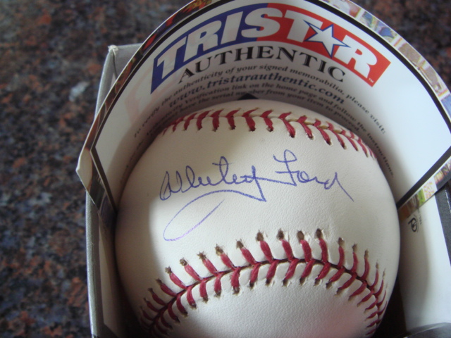 Whitey Ford Autographed Official MLB Baseball With TRI STAR COA
