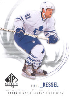2009-10 SP Authentic #1 Phil Kessel