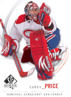2009-10 SP Authentic #5 Carey Price
