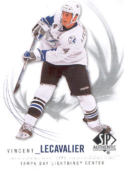 2009-10 SP Authentic #6 Vincent Lecavalier