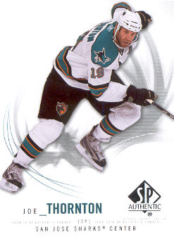 2009-10 SP Authentic #7 Joe Thornton