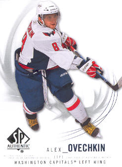 2009-10 SP Authentic #8 Alexander Ovechkin
