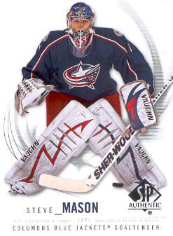 2009-10 SP Authentic #9 Steve Mason