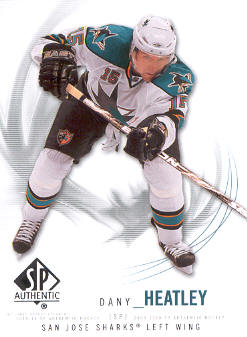 2009-10 SP Authentic #10 Dany Heatley