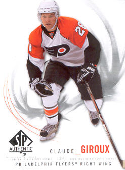 2009-10 SP Authentic #14 Claude Giroux