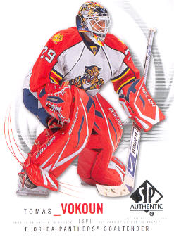 2009-10 SP Authentic #15 Tomas Vokoun